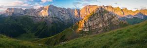 Karwendel sunrise