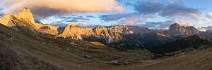 An evening in the Dolomites...