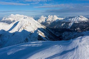 still deepest winter in the Alps by acoresjo88