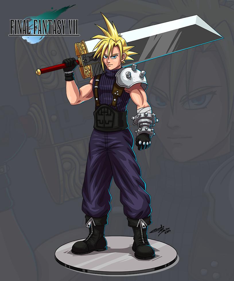 Final Fantasy Cloud Strife Wallpaper: Cloud Strife By Zlinx On DeviantArt