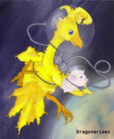 Space chocobo