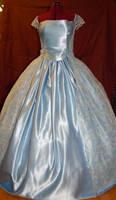 Blue gown WIP by dragonariaes