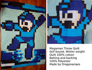Megaman throw blanket