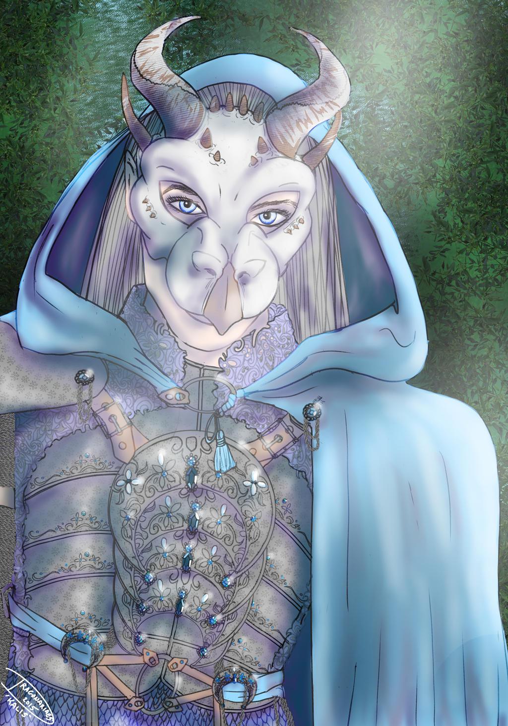 Kalis portrait by dragonariaes