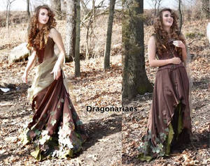 Simple Elven feast gown