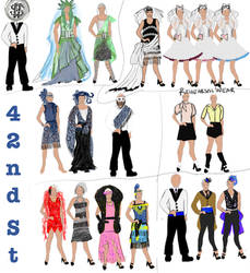 Costume plot 42nd street