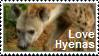 Love Hyenas Stamp by charry-photos