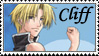 Cliff Fan Stamp by charry-photos