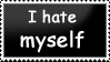 I hate myself -stamp- by charry-photos