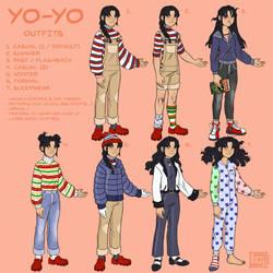 [OC] Yo-Yo - Outfits