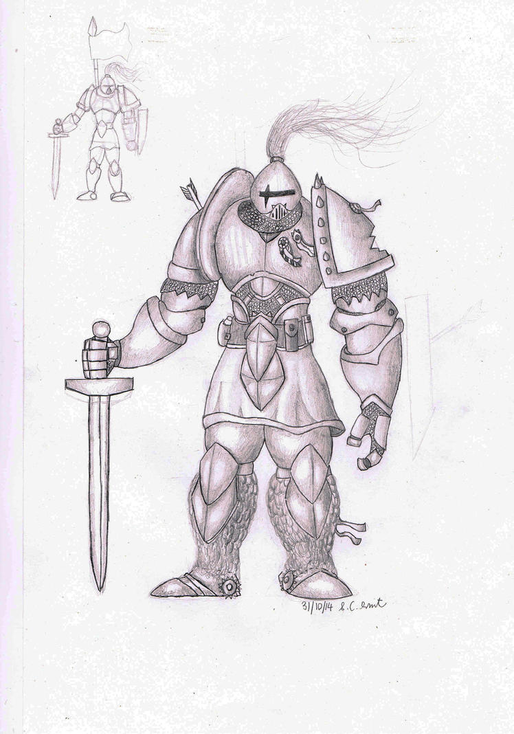 Paladin Sketch by Samo94