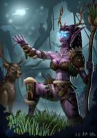 Druid of the Wild by Samo94