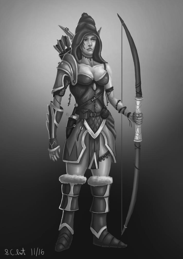 Elven Archer by Samo94