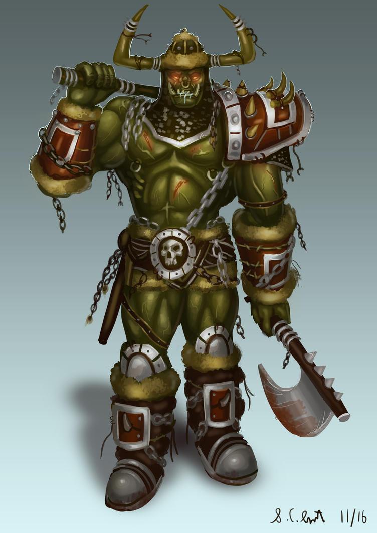 Warcraft 3 Grunt by Samo94
