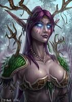 Night Elf Druid by Samo94