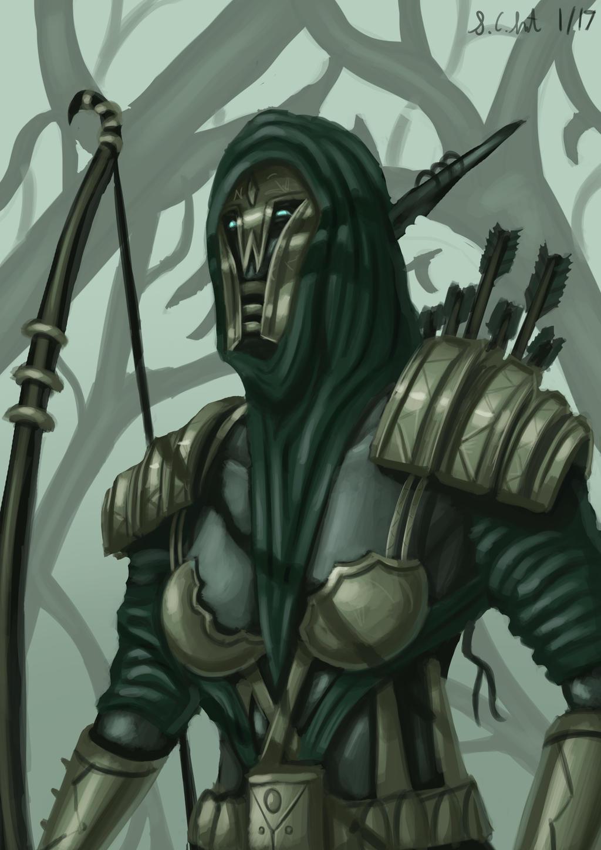Dark Elven Ranger by Samo94
