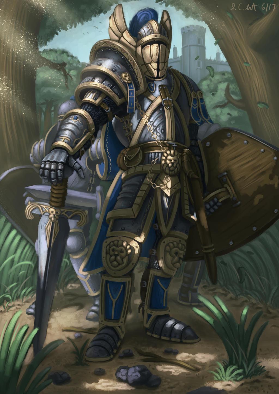 Karl Sallow [FICHA] Alliance_footmen_lieutenant_by_samo94-dbc78w0