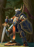 Forest Knight, just chillin