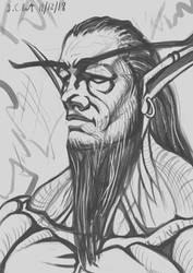 Druid of the Claw Sketch by Samo94