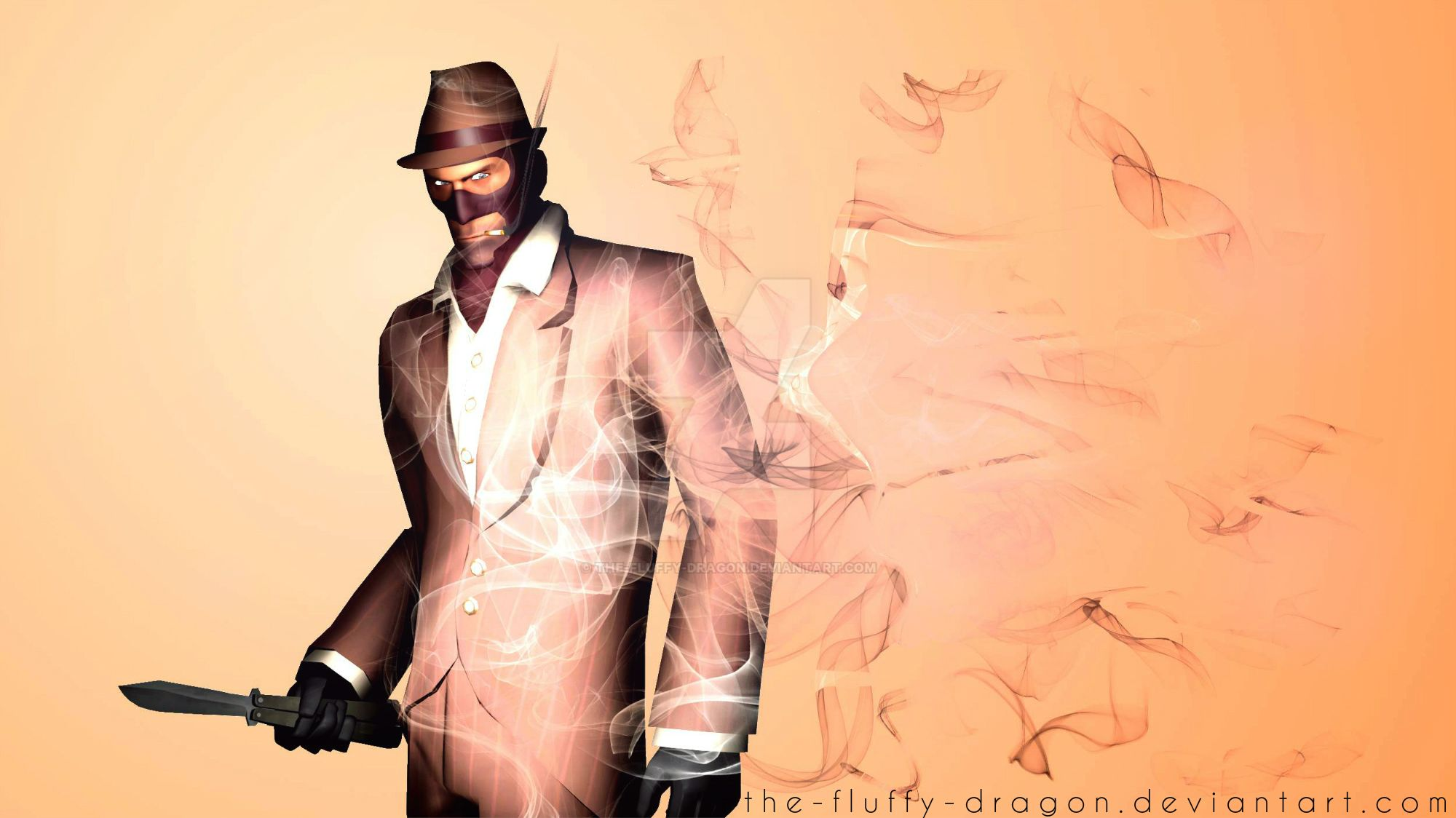 Tf2 spy wallpaper sfm