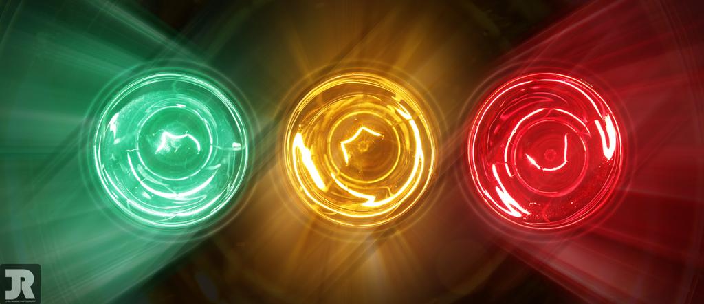 Trois ampoules by jyru on deviantart for Suspension trois ampoules