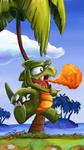 Dragon of Wonder boy by jyru