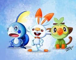 Choose Your Pokemon ! by jyru