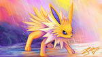 Jolteon use Rain Dance