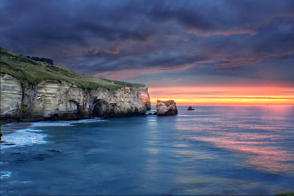 Tunnel Beach 5 by MintMannequin