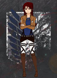 Miyuki Akabane [Attack on Titan oc]