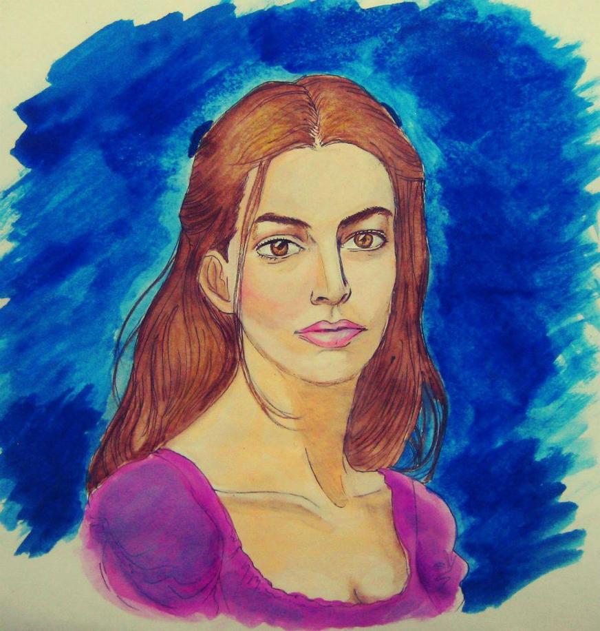 Fantine (Anne Hathaway) My ArtWorK By PrincessQuincel On