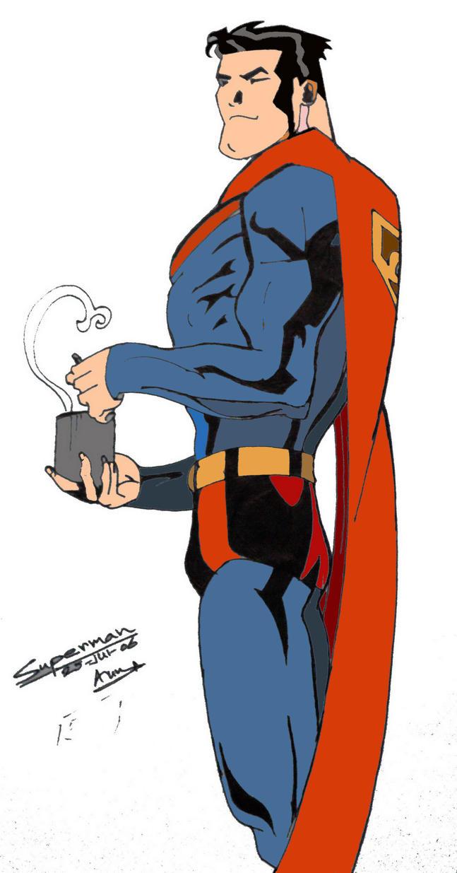 superman colour by aumkarp - Superman Pictures To Colour