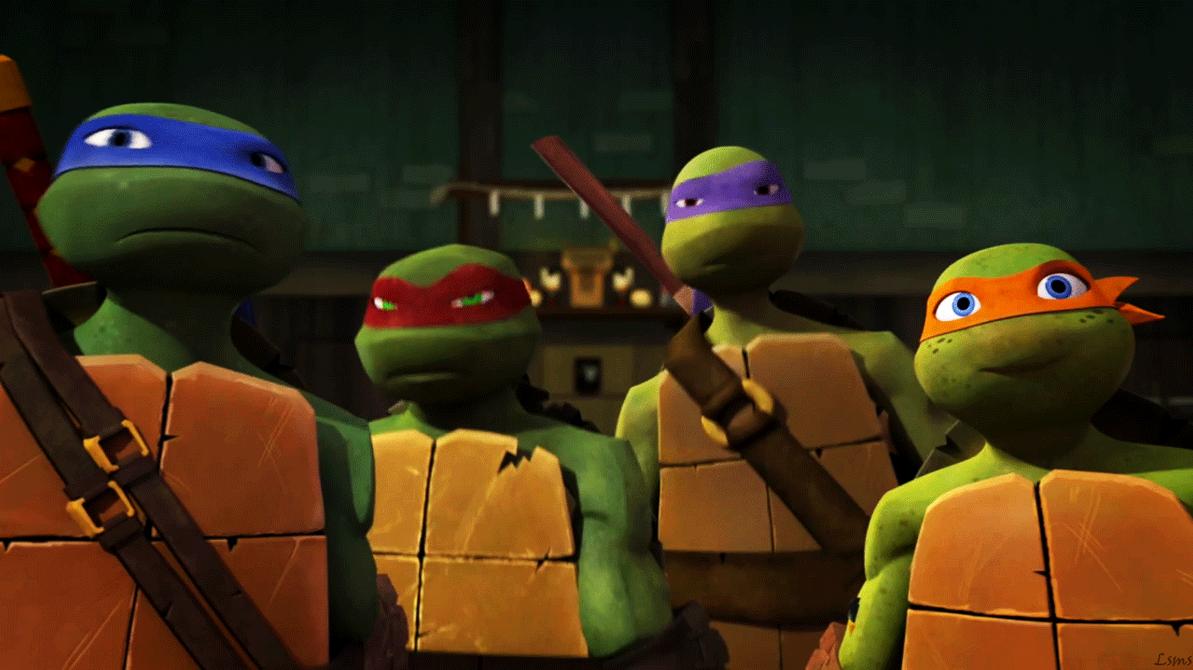 As Tartarugas Ninjas No Deviantart Gifs