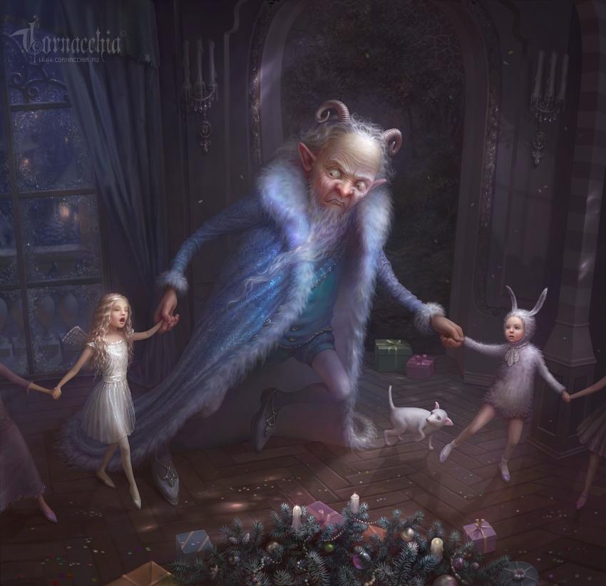 Les anges dans nos campagnes by cornacchia-art