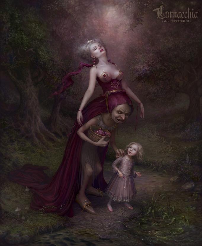 Lollipop Fairy by cornacchia-art