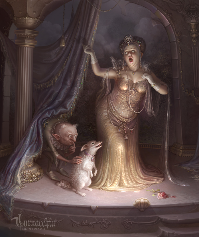 Zemire et Azor by cornacchia-art