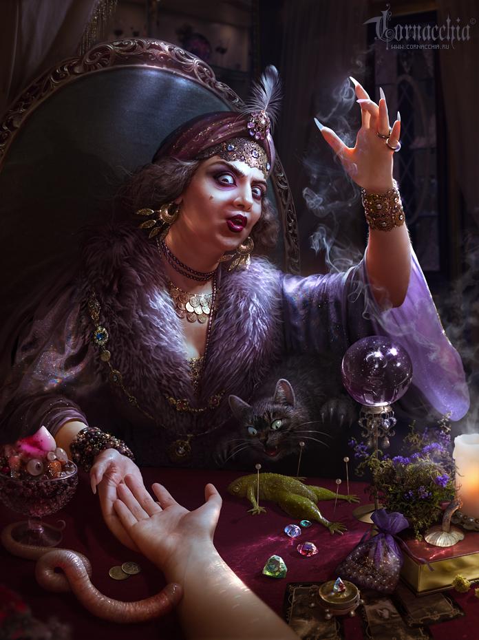 Madame Bichon by cornacchia-art