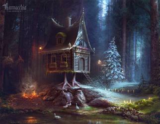 The Edge of Winter by cornacchia-art