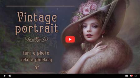 Video tutorial Vintage Portrait