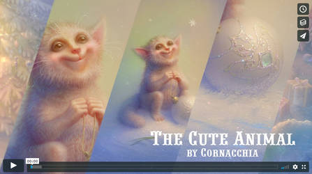 Video Tutorial The Cute Animal by cornacchia-art