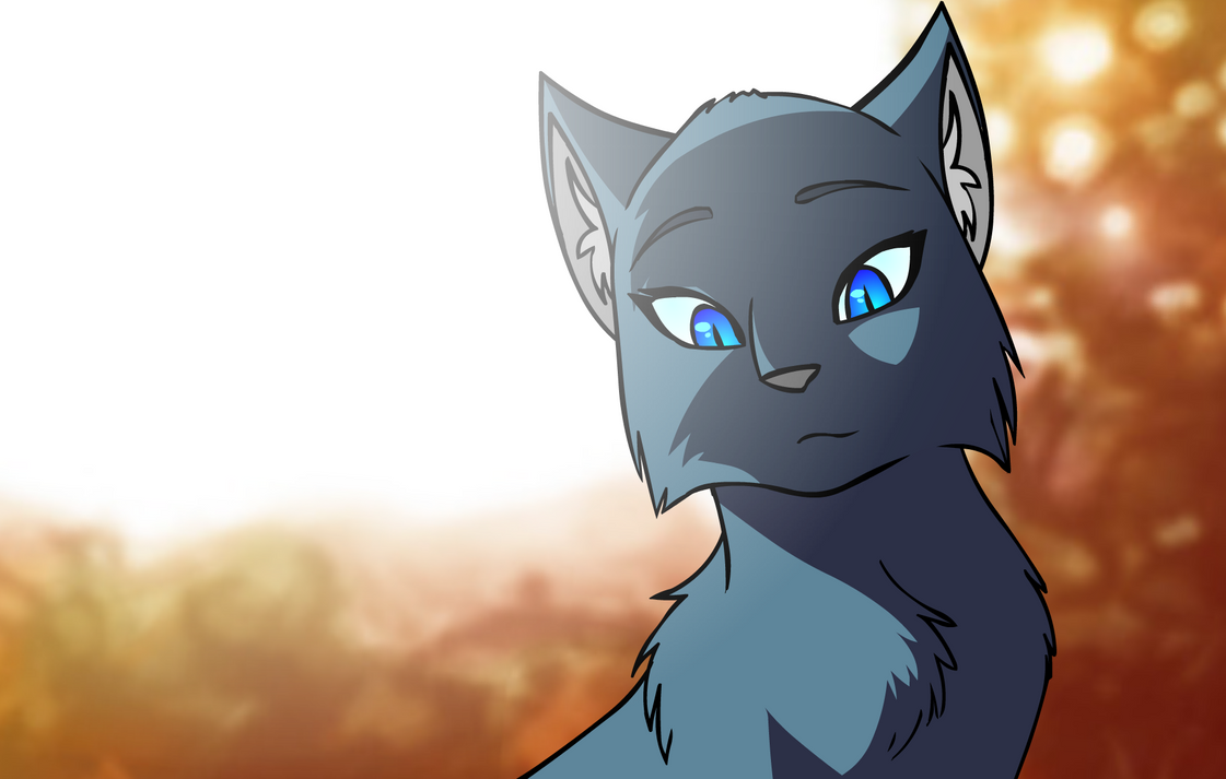 Bluestar by ColacatintheHat on DeviantArt Warrior Cat Drawings Bluestar