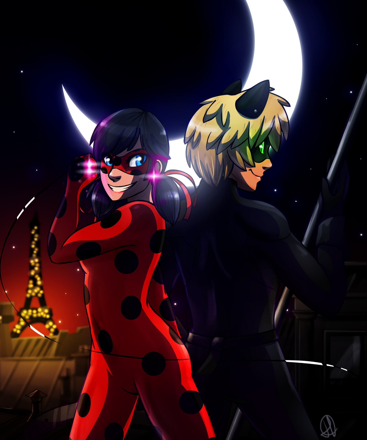 Miraculous Ladybug By Colacatinthehat On Deviantart