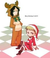 Merry Christmas 2011 from DEG by happideath
