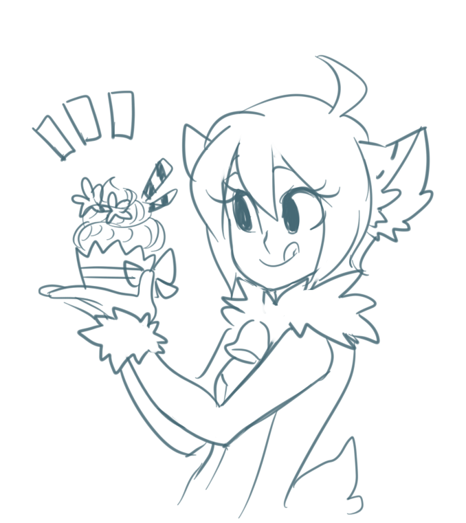 birthday cupcake by ayrra