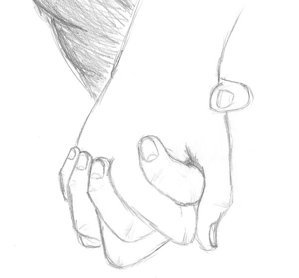 Holding Hands by Kalesaurus on DeviantArt