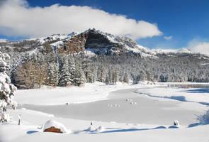 Silver Lake - Thunder Mountain by merzlak