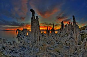 Mono Lake Sunrise 5 by merzlak