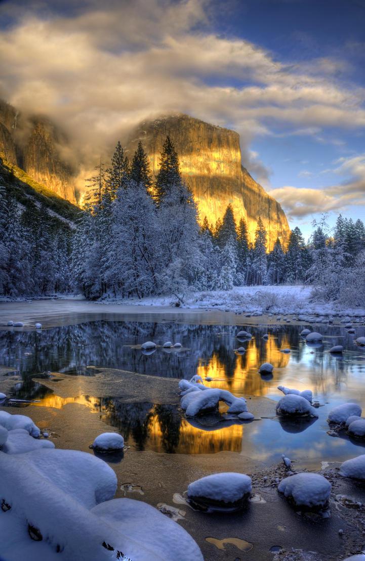 Yosemite Winter 2 by merzlak