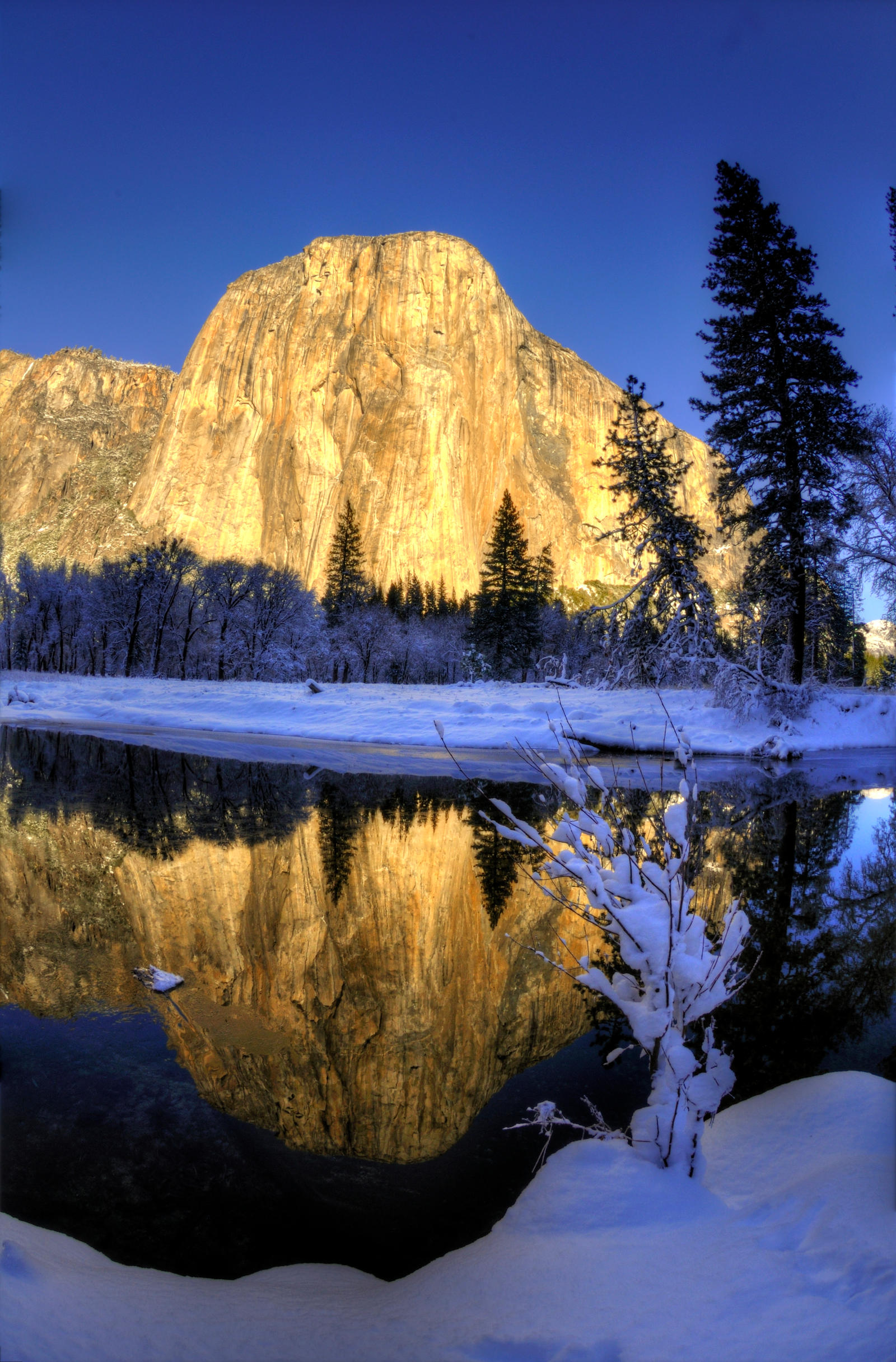 Yosemite Winter 3 by merzlak