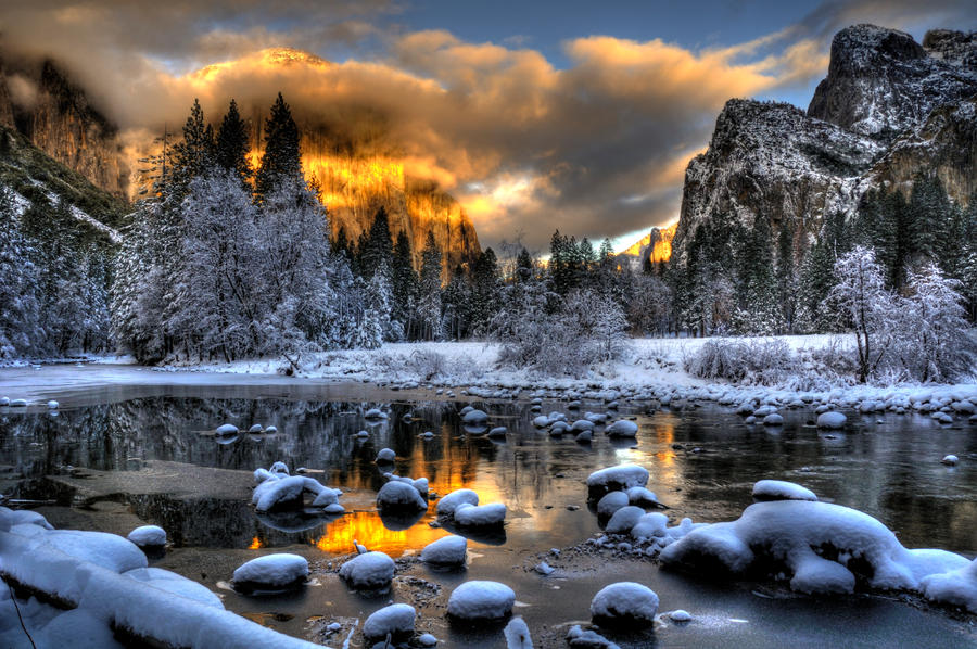yosemite Winter 7 by merzlak